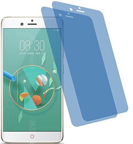 4ProTec I 2X Crystal Clear klar Schutzfolie für ZTE Nubia Z17 Mini Premium Bildschirmschutzfolie Displayschutzfolie Schutzhülle Bildschirmschutz Bildschirmfolie Folie