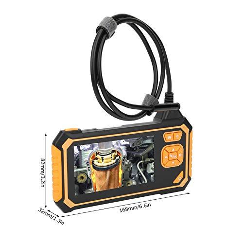 Endoscopio de tubería, luces LED ajustables HD 1080P Endoscopio digital de 8 mm, para mantenimiento de detección de tuberías(10m, Pisa Leaning Tower Type)