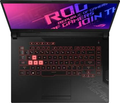 Asus ROG Strix G15 Core i5 10th Gen - (8 GB/512 GB SSD/Windows 10 Home/4 GB Graphics/NVIDIA Geforce GTX 1650 Ti/144 Hz) G512LI-HN094T Gaming Laptop (15.6 inch, Black Plastic, 2.3 kg)