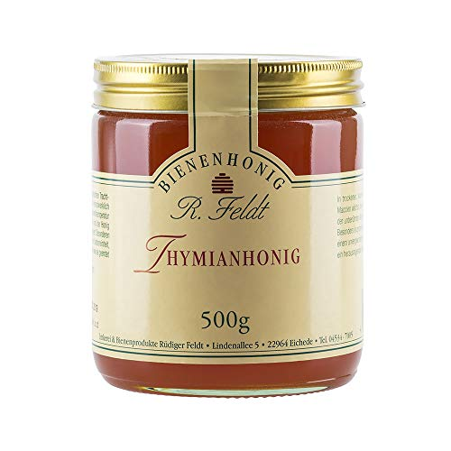 Thymian Honig - aromatischer, naturbelassener Honig vom Imker (500g)