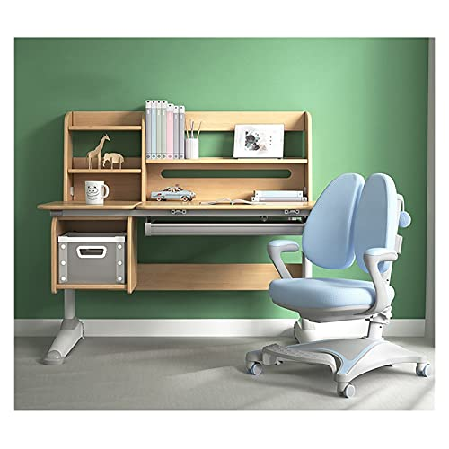 Escritorio de estudio Mesa de estudio de escritorio for niños, mesa de silla, escritorio de escuela primaria, escritorio de escritorio y silla, se puede elevar y bajar la mesa de estudio Mesa de Estud