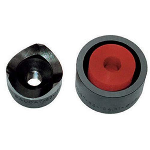 Baudat, grapadora hidráulica para láminas, punzones y materiales para art. 760 GH - 760 GH 8-760 GV, de acero especial endurecido. Para agujeros de 37 mm de diámetro.