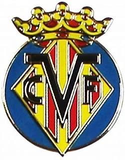 Villarreal Crest Pin Badge