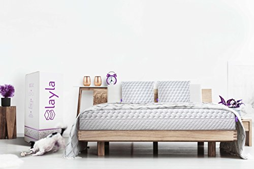 Layla Sleep Memory Foam King Mattress - Copper Infused Cooling System