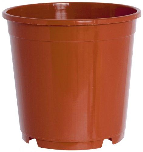 geli Thermo Plastic Pflanzkübel CONTAINERTOPF rund aus Kunststoff, Durchmesser:27 cm