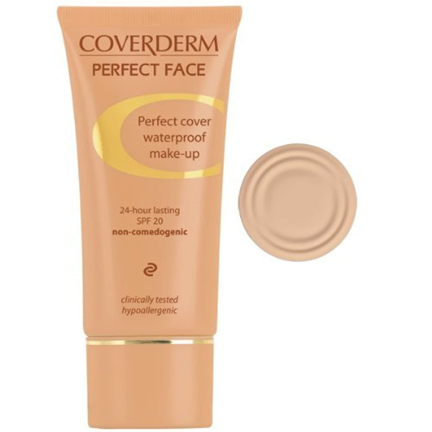設計人生を作るブロッサムCoverDerm Perfect Face Concealing Foundation 1, 1 Ounce by Coverderm [並行輸入品]