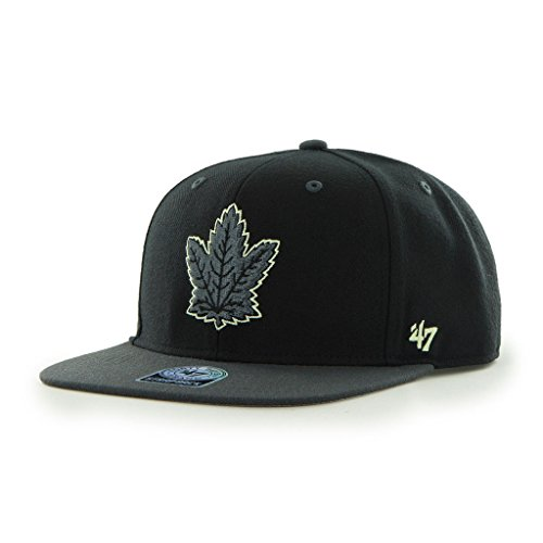 '47 Toronto Maple Leafs Glow in Dark Night Moves Snapback Cap Brand NHL Baseball Hat