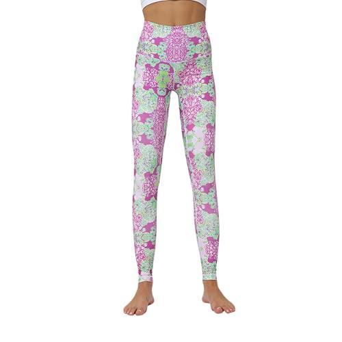QTJY Pantalones de Yoga con Costura de Color a la Moda para Mujer, Cintura Alta, Caderas, Mallas Delgadas, Flexiones, Celulitis, Entrenamiento, Pantalones de chándal A S