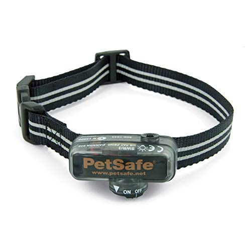 PetSafe Elite Little Dog In-Ground Fence Receiver Collar, for Dogs over 5lb, Waterproof with Tone and Static Stimulation