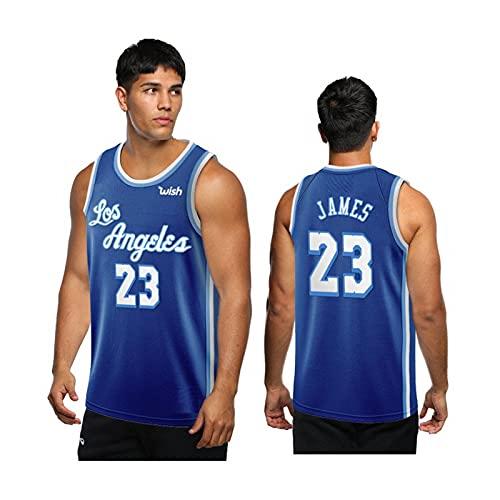 YXST Camiseta De Baloncesto,NBA # 23 CláSico Transpirable Chaleco De Secado RáPido,RéPlica De Jugador De Baloncesto,Traje De Entrenamiento Deportivo Al Aire Libre,S