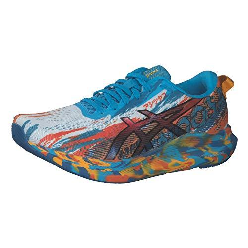 ASICS Herren Gel-Noosa Tri 13 Road Running Shoe, Digital Aqua/Marigold Orange, 42.5 EU