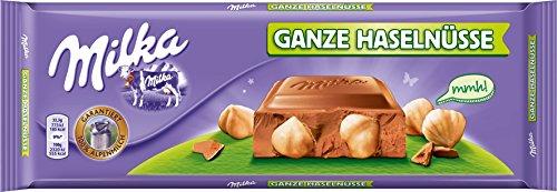 Milka Ganze Haselnuss, Schokolade, Großtafel 300g, 4er Pack