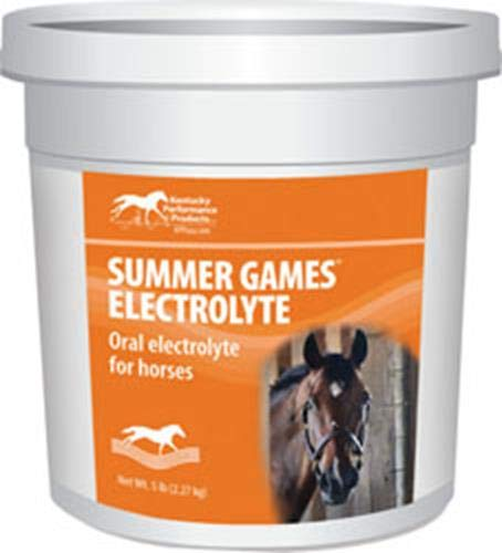Kentucky Performance Products Summer Games Electrolyte Horse Supplement, 5 Pound Container