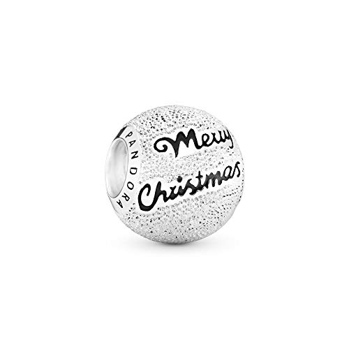 Pandora Jewelry Merry Christmas Sterling Silver Charm