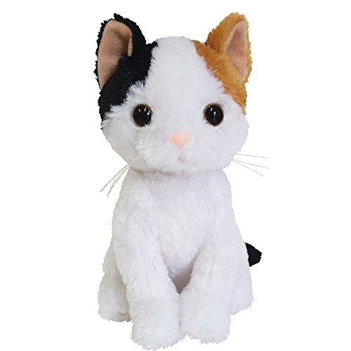 ベストエバー(Bestever) プレミアムキティ 三毛猫 ぬいぐるみ 高さ18cm×横幅10cm×奥行15cm 53079