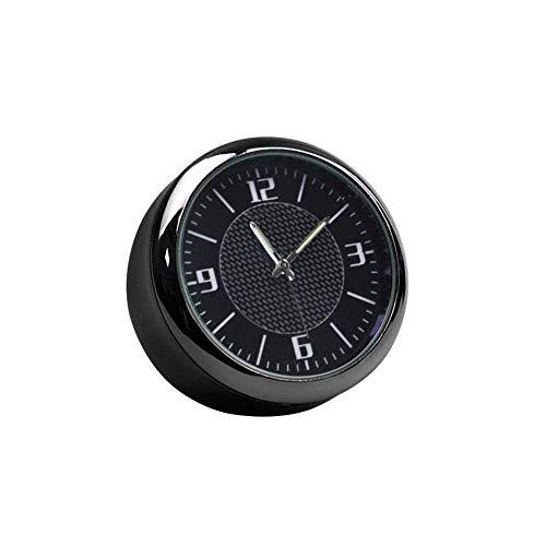 Ventilaciones de aire Ventilaciones Clip Digital Reloj Digital Decoración Automotriz Tablero Tiempo Mostrar Coche Reloj Reloj para Adornos Automóviles Automático Reloj de alarma ajustable, Mesa de noc