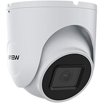 Security Camera H.VIEW 5MP IP Camera with 2.8mm Lens Super HD Dome POE Outdoor Camera, Audio, H.265, Motion Detection, Smart IR, Easy Setup, Easy Install