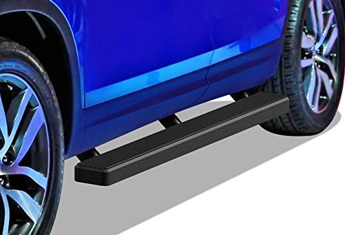 APS iBoard Running Boards 4 inches Matte Black Compatible with Pilot 2016-2021 (Nerf Bars Side Steps Side Bars)