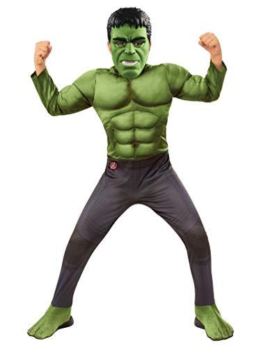 Rubie's, Costume Ufficiale di Hulk, Hulk, per Bambini, Taglia L, età 8-10 Anni, Altezza 147 cm