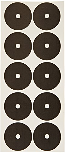Imperial Self-Adhering Billiard/Pool Table Ball Marker Spots, Pack of 100 Stickers, Black
