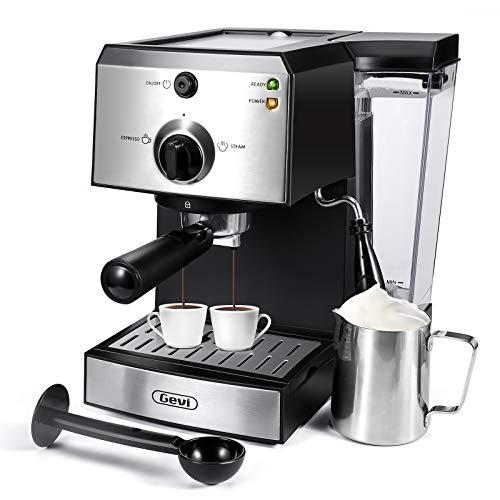 Espresso Machines 15 Bar Fast Heating Coffee Machine...