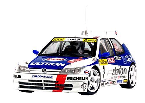 NuNu Platz Hobby Model Kit Item PN 24009 Peugeot 306 Maxi 1996 Monte Carlo Rally