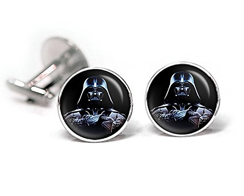 Darth Vader Cufflinks, Star Wars Tie Clip, Jedi Jewelry, Darth Vadar, Stormtrooper stormtroopers Death Star, Wedding Party