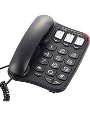 OHM電機 簡約老年手機 黑色 [產品編號]05-2991