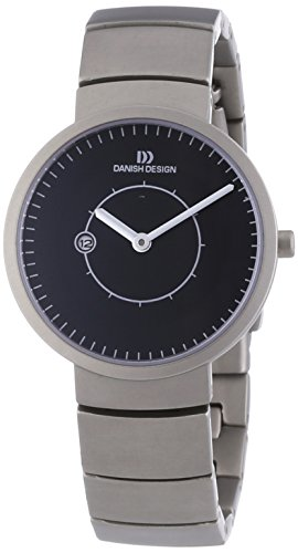 Danish Design 3326487 - Reloj analógico de mujer de cuarzo con correa de titanio - sumergible a 30 metros