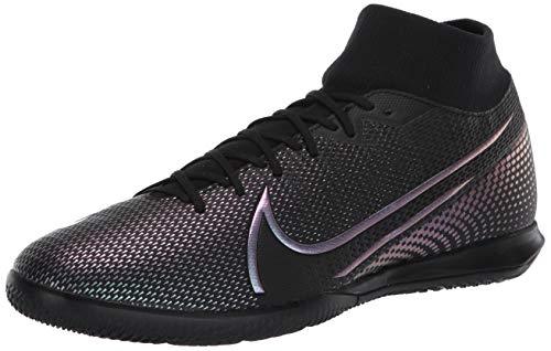 Nike Superfly 7 Academy IC, Botas de fútbol Hombre, Negro 010, 38.5 EU