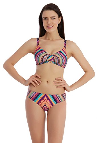 Sunset® Bikini Dames Set bekleed met cups zonder beugel Lycra ondoorzichtig