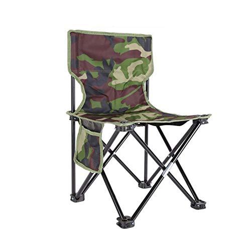 LHTCZZB Addensare e leggero pieghevole Sgabello portatile Metallo + Oxford Panno Materiale traspirante e impermeabile Adatto per la sedia da campeggio all'aperto domestico Sedia pieghevole Sedia da pe