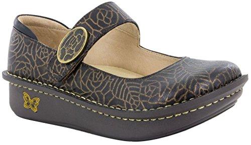 Alegria Paloma Womens Mary Jane Shoe Bronze Leaf 10 M US