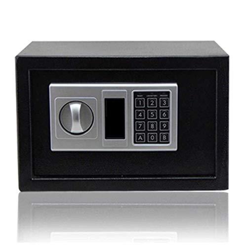 YANJ Cajas de Seguridad Caja de Seguridad Caja Fuerte Digital para el hogar Caja de Seguridad electrónica Caja Fuerte Caja Fuerte de Pared con Llave, Hucha montada en la Pared para ofi