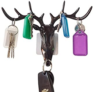 GOMA Best Wall Key Holder - Hook All Your Keys and Dog-Walking Essentials in