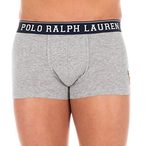 Ralph Lauren boxershorts voor heren, grijs logo, meerkleurig