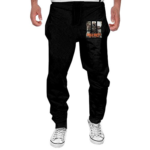 KABVB Mens Fuck Cancer- Awareness Men's Casual Sweatpants Pants XX-Large Black