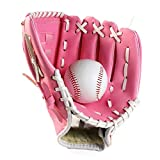 FitTrek Baseball Glove Softball Gloves – Left and Right Baseball Gloves and Softball Fielding Glove– Adult and Youth Sizes – 10.5 11.5 12.5 in Size Mitts — Baseball Mitt
