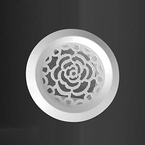 Release Orificios de Escape de Salida de Aire Ajustables giratorios, persianas Circulares, Orificios de Escape, Salidas de Aire Acondicionado centrales Circulares (Size : 100MM)