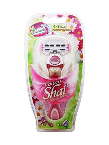 Soft Touch (LSXA1000) Rasiersystem für Frauen mit 6 Klingen