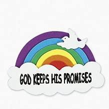 god keeps his promises rainbow