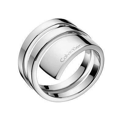 Calvin Klein - Anillo para mujer, joyas Beyond talla 16, Trendy cód. KJ3UMR000108
