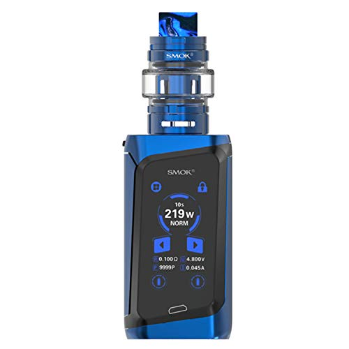 SMOK Morph 219 Kit 219W TF Vaporizer 6ML Atomizer Electronic Cigarette Touch Screen Box Mod Vape  kein Nikotin und kein Rauchöl. (Prism Blue and Black)
