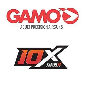 Gamo 6110063354 Swarm Fusion 10X GEN2 Air Rifle, .177 Caliber,Black