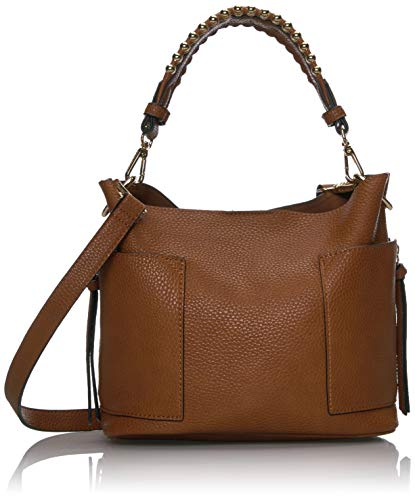 Steve Madden womens Bsammy Hobo Bag, Cognac, One Size US