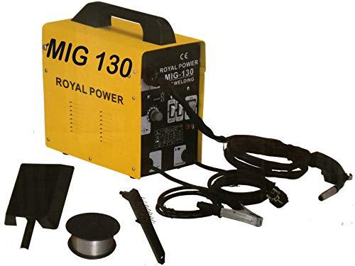 3. Soldador de hilo continuo sin gas Royal Power MIG 130 A 230V