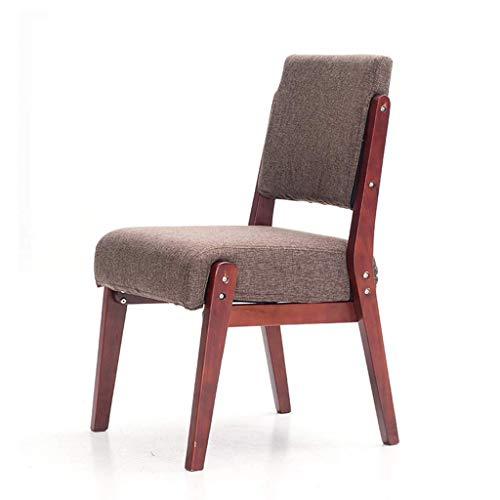 Haushaltsprodukte Stilvolles Zuhause Hochhocker Haushalts Massivholz Esszimmerstuhl Stuhl im europäischen Stil Esstisch Stuhl Massivholzstuhl (Farbe: A)
