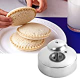 Sandwich Cutter and Sealer for Kids, 3-1/2-Inch DIY Uncrustables Round Sandwich Maker, Stainless Steel Cut and Seal, Sandwich Press for Kid's Lunch Box and Bento Box(1 Pack)