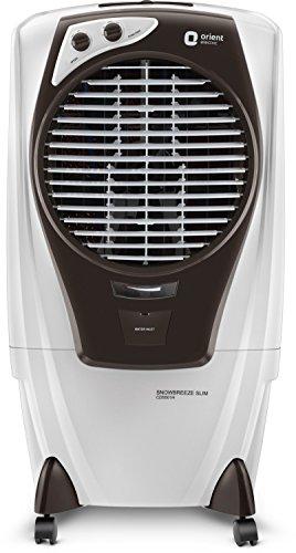 Orient Electric Snowbreeze Slim CD5501H 55 litres Air Cooler (White/Dark Grey)