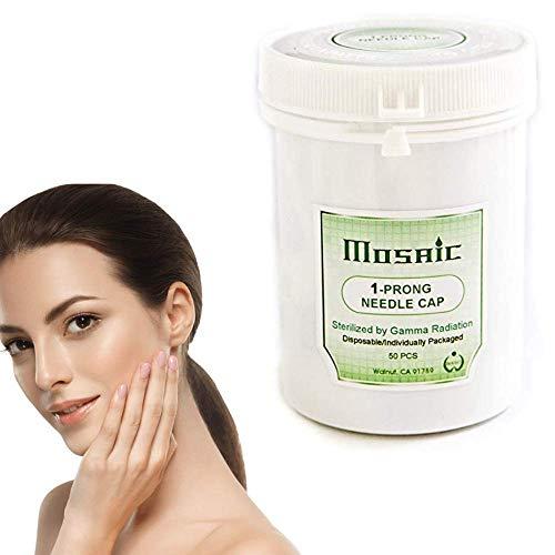 BioTouch Permanent Makeup MOSAIC Machine 1 PRONG NEEDLE CAPS 50 per box